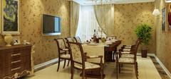欧式风格餐桌设计,别样色彩带来好心情!