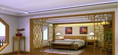 卧室装修效果图 卧室隔断的装修注意事项