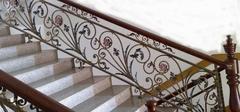 铁艺楼梯扶手安装,打造精致楼梯!