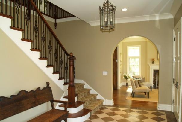 别墅实木楼梯设计图案例欣赏