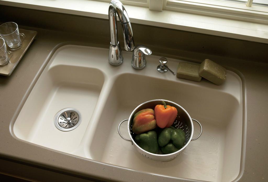 厨房双槽水槽
