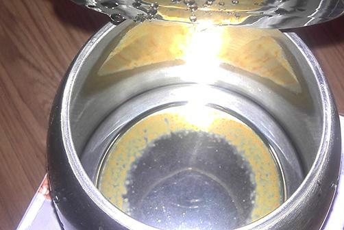 柠檬法除水垢