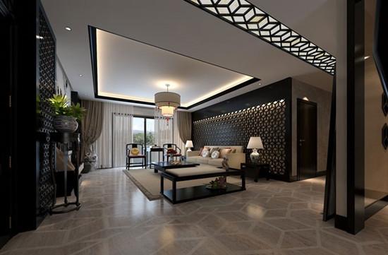 新中式卧室样板房欣赏