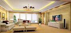 欧式客厅装修效果图  欧式客厅装修注意事项