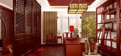 中式书房装修,设置、位置、布置介绍!