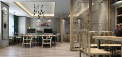 日式风格餐厅装修,低矮之风盛行!