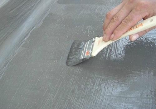 防水涂料效果图