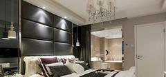 现代简约风格卧室装修,灯具如何选择?