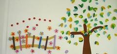 幼儿园环境布置图片:墙面布置欣赏