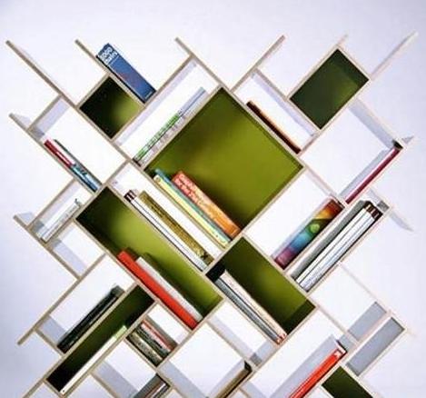 书柜效果图欣赏