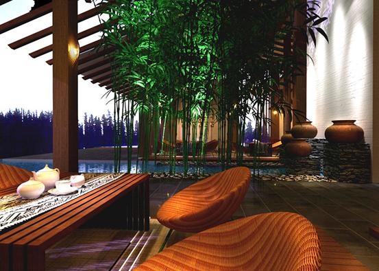 东南亚丛林风格