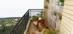 地中海风格阳台,打造出清闲的地中海风情