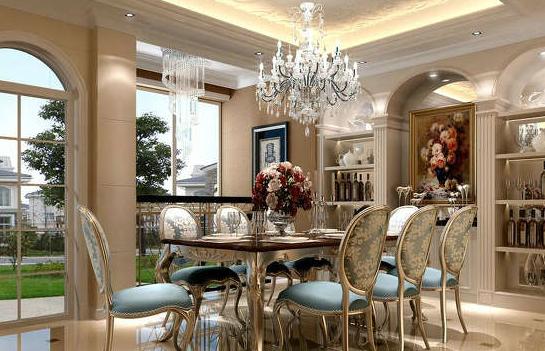 欧式风格餐桌欣赏