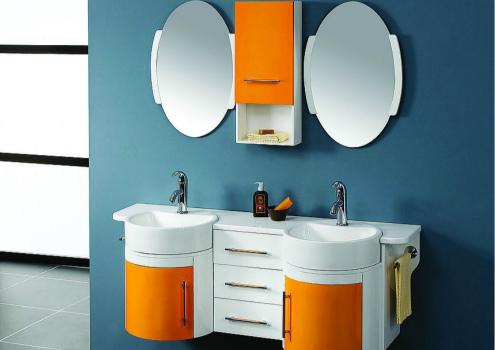 PVC浴室柜效果图