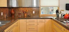 不锈钢橱柜台面的优缺点有哪些?