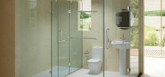 浴室玻璃隔断,装好了效果出彩!