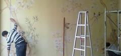 旧墙纸如何巧妙剥除?