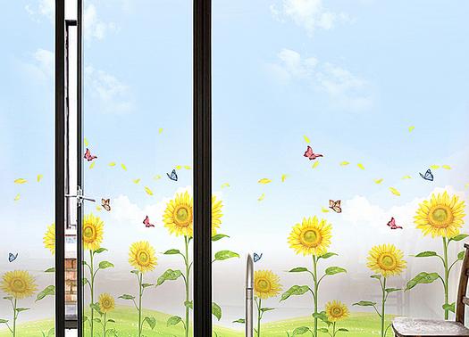 窗户贴膜步骤介绍