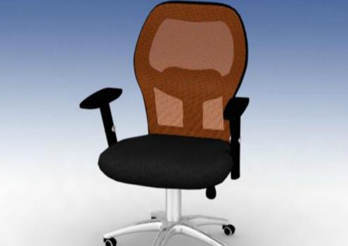 电脑椅效果图