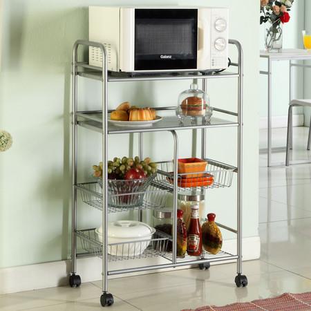 如何选择厨房储物架