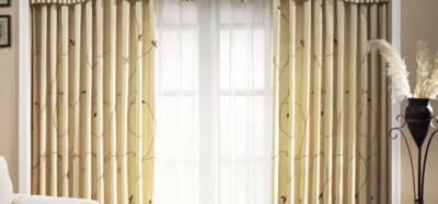 窗帘搭配,客厅窗帘颜色的选择
