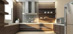 开放式厨房常见装修风格有哪些搭配技巧?