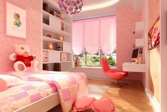 儿童房装修 > 正文        儿童房卧室装修效果图欣赏3:一款欧式风格