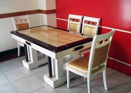 大理石餐桌的优缺点