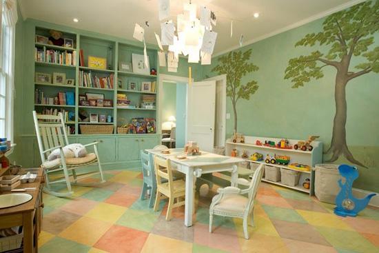 儿童房墙面颜色怎么选