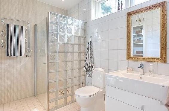 卫生间干湿分离隔断设计