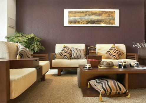 实木沙发装修效果图