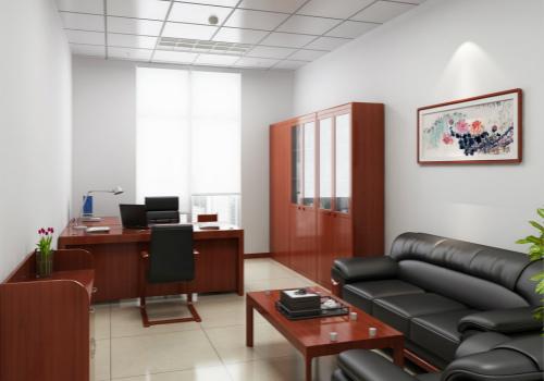 办公家具效果图