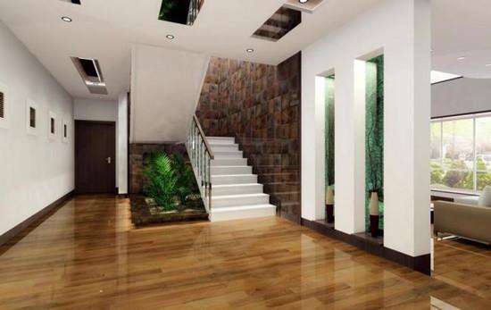 别墅楼梯面漆工艺不可忽视