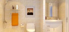 卫生间干湿分离隔断设计,巧妙划分区域!