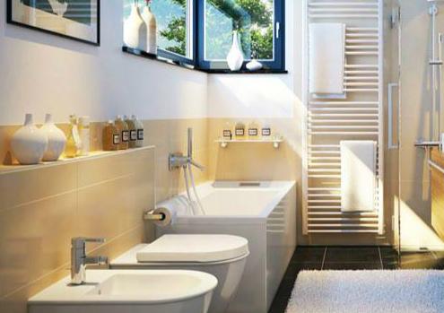 浴缸装修效果图
