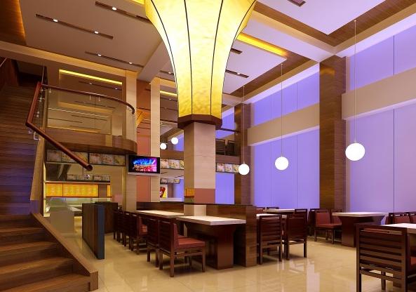 中式快餐空间装修