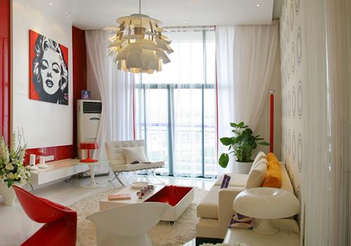 小户型客厅沙发摆放方式