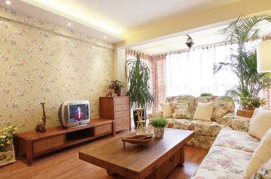 原木色家具