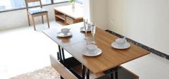 小户型餐桌挑选,折叠式餐桌一个字省!