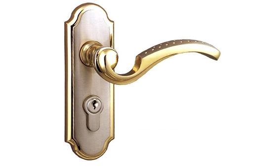 防盗门锁安装方法