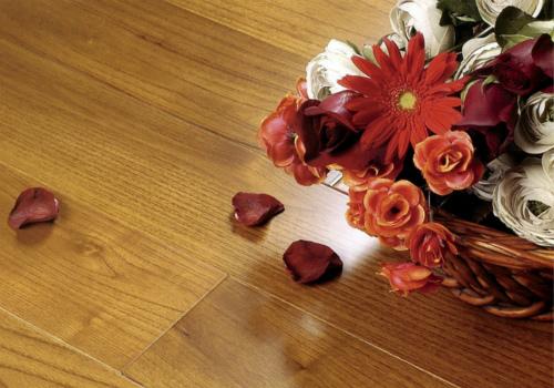 竹木地板效果图