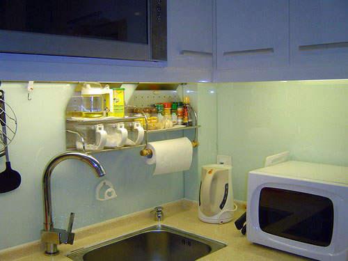 厨房小,格调不能少