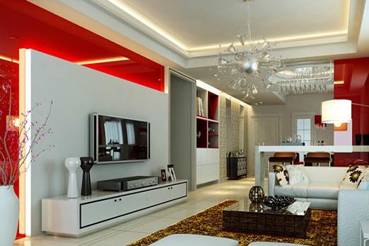客厅区域设计变换