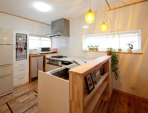 现代小户型厨房装修注意事项