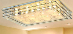 如何保养客厅吸顶灯?