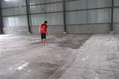 水泥地面硬化处理方法