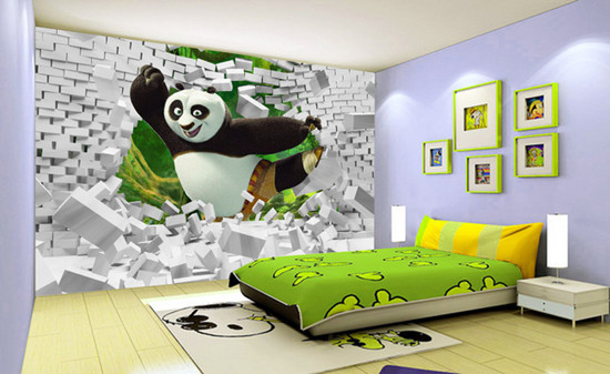 创意无限的儿童房设计之活泼风