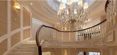 优美曲线楼梯设计,独具艺术气息!