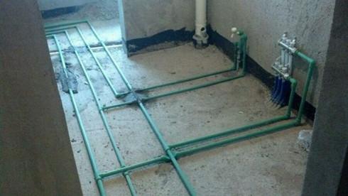 厨房水路改造