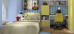 趣味十足的儿童房设计,尽享儿童舒适生活